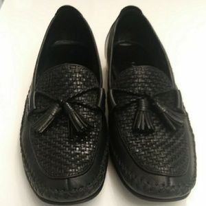 COLE HAAN COUNTRY BLACK LOAFERS SZ 8AA